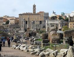 Róma: a Fórum Romanum – részlet