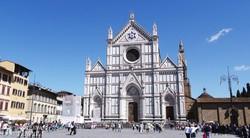a Santa Croce-templom Firenzében