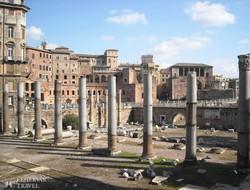 Róma: a Császári Fórumok – részlet