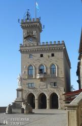 San Marino, a Parlament épülete
