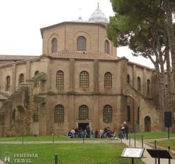 Ravenna: a San Vitale-templom