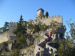 San Marino egyik erődje