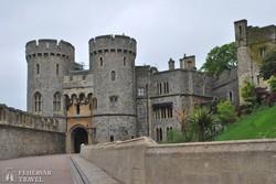 Windsor kastélya, a királyi család nyári rezidenciája