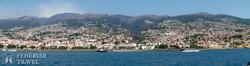 Funchal látképe az óceán felől