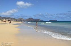 Porto Santo homokos tengerpartja