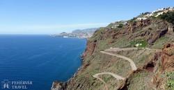 kilátás a Ponta do Garajau fokról