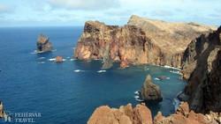 a Szent Lőrinc fok, Madeira legkeletibb pontja