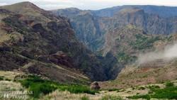 lélegzetelállító panoráma az 1818 m magas Pico do Arieiróról