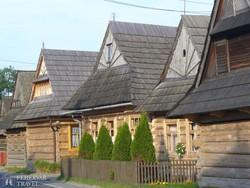 jellegzetes faházak Chochołówban