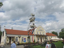 a Wieliczkai sóbánya bejárati épülete