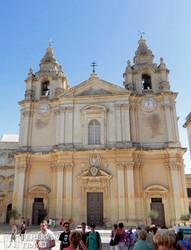 a Szt. Pál társkatedrális Mdinában