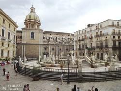 Palermo: a Piazza Pretoria