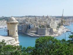 """Valletta – pillantás a """"Három Városra"""""""