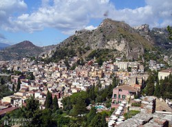 Taormina látképe