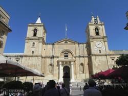 Valletta  – a Szt. János társkatedrális homlokzata