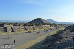 "Teotihuacán ""főutcája"""