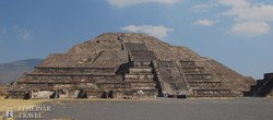 Teotihuacán – a Hold–piramis