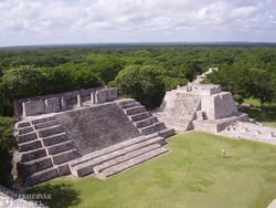 Uxmal, a maja romváros – részlet