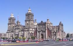 Mexikóváros impozáns katedrálisa