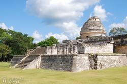 a Csillagvizsgáló épülete Chichén Itzában