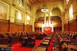 Ottawa: ülésterem a Parlamentben
