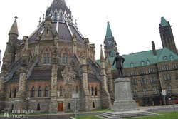 Ottawa: a Parlament könyvtára