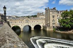 Bath egyik jelképe, a Pulteney-híd