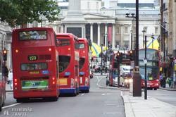 London jellegzetes tömegközlekedési eszközei