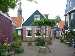 Volendam egy jellegzetes lakóháza