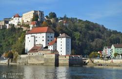 Passau – a három folyó városa