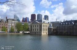 Hága: a Mauritshuis épülete