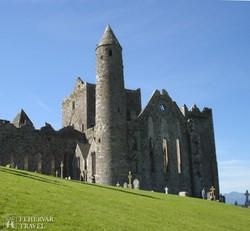 a kerek torony Cashel sziklájánál