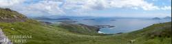 gyönyörű táj a Kerry-gyűrű mentén