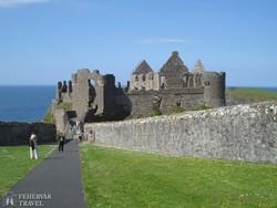 Dunluce vára Észak-Írországban