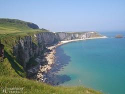 Antrim tengerpartja Észak-Írországban