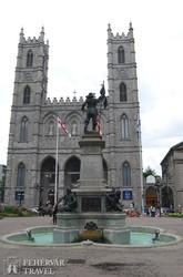 Montreal: a Notre-Dame bazilika