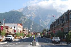 Banff főutcája