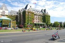 Victoria városa – az Empress hotel