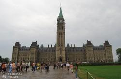 Ottawa: a Parlament főépülete