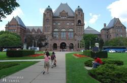 Toronto: Ontario tartomány parlamentje