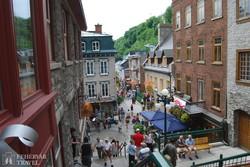 Quebec – pillantás az alsóvárosra