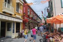 Quebec hangulatos óvárosa – részlet