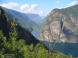 útban a Sogne-fjord felé