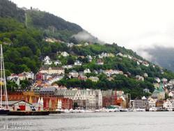 Bergen, a norvég fjordvidék fővárosa