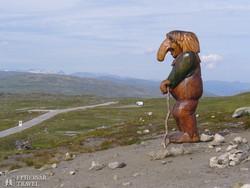 """troll-őr"" a Hardanger-fennsíkon"