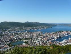 kilátás Bergenre