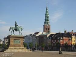 Koppenhága: VII. Frigyes lovasszobra