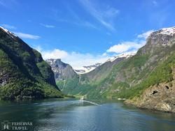hajózás a Sogne-fjordon