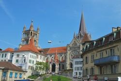 a Notre-Dame katedrális Lausanne-ban