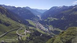 panoráma a Ticino völgyére